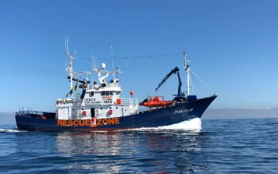 ¿Por qué está el Aita Mari en el puerto de A Coruña?