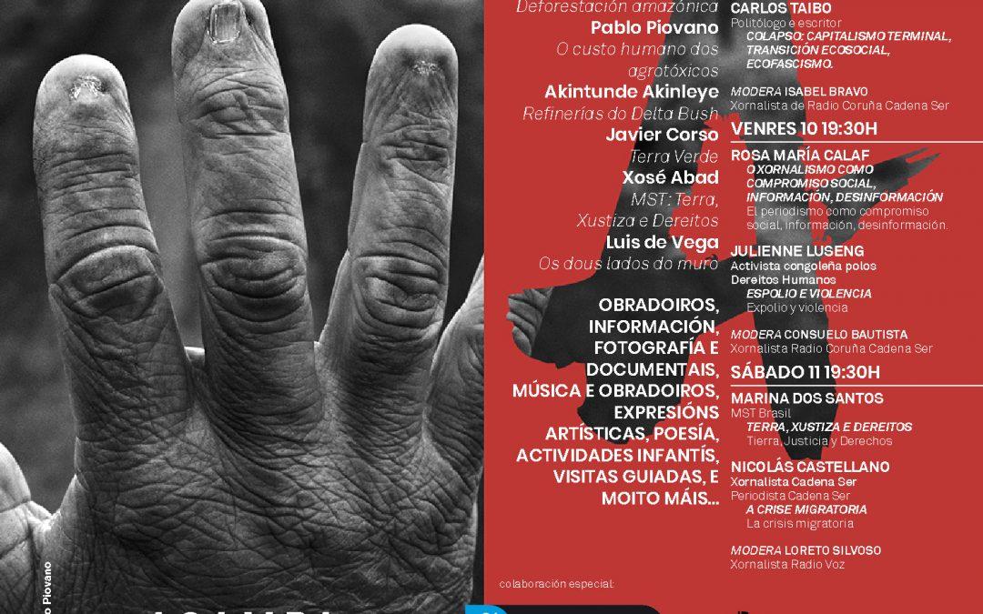 """""""A VIDA NEGADA"""", O V ENCONTRO INTERNACIONAL ACAMPA POLA PAZ, VOLVE ÁS RÚAS PARA DENUNCIAR OS DRAMÁTICOS EFECTOS DO SAQUEO DE RECURSOS NAS POBOACIÓNS LOCAIS, CONDENADAS A BUSCAR REFUXIO"""