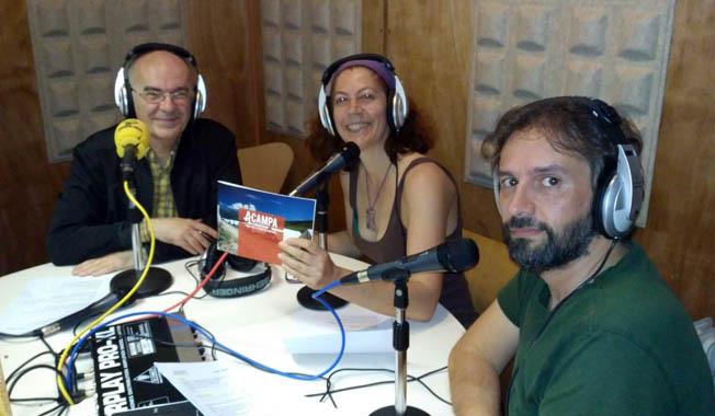 Radio Cuac Graba las cuñas de Acampa