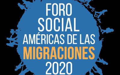 ACAMPA POLA PAZ E O DEREITO A REFUXIO PARTICIPA EN EL FORO SOCIAL AMÉRICAS DE LAS MIGRACIONES