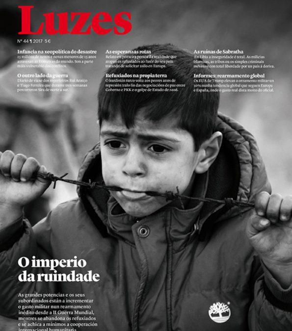 """La revista LUZES saca un número especial, """"O imperio da ruindade"""""""