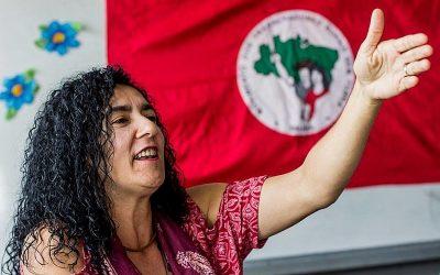 LA ACTIVISTA MARINA DOS SANTOS, MIEMBRO DE LA DIRECCIÓN NACIONAL DEL MST BRASILEÑO, ASISTIRÁ AL V ENCUENTRO INTERNACIONAL ACAMPA A CORUÑA