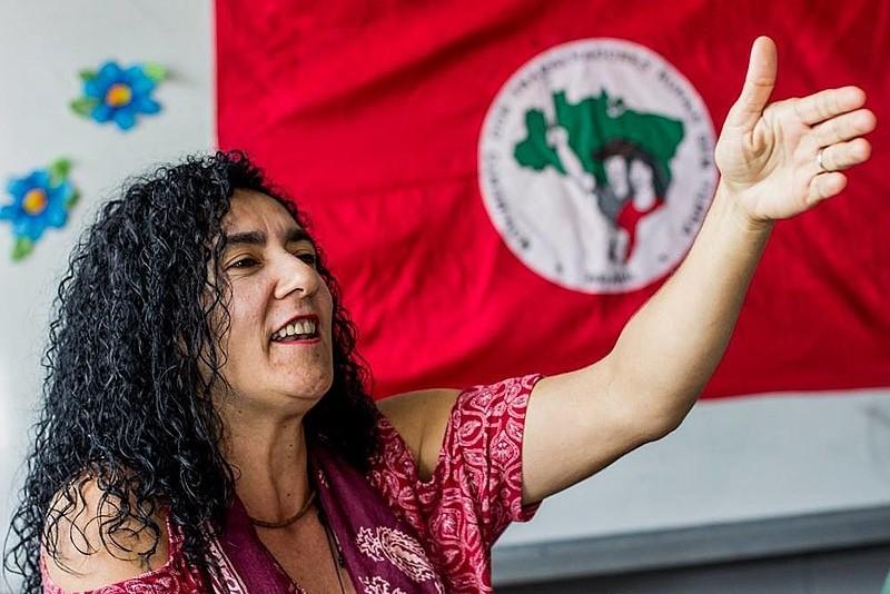 A ACTIVISTA MARINA DOS SANTOS, MEMBRO DA DIRECCIÓN NACIONAL DO MST BRASILEIRO, ASISTIRÁ AO V ENCONTRO INTERNACIONAL  ACAMPA A CORUÑA