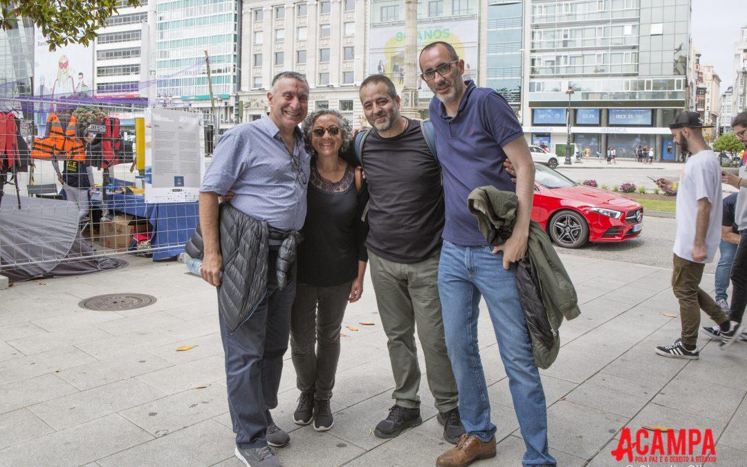 Unha delegación de Acampa Coruña viaxa a Brasil para participar na difusión da iniciativa que terá nese país a súa primeira réplica internacional