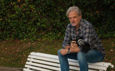 """Xosé Abad,  fotodocumentalista e coordinador da rede Acampa participa hoxe na iniciativa """"Corazón do Barrio""""."""